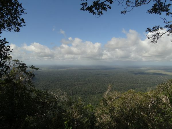 Vista do Parque Nacional do Monte Pascoal