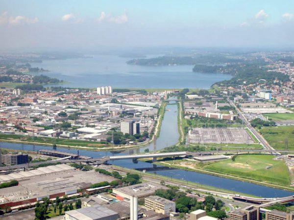 Rios e Represa de Guarapiranga, na zona sul de São Paulo